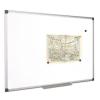 VICTORIA Törölhető fehértábla, nem mágneses, alumínium kerettel, 90 x 120 cm