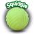 Aerobie Squidgie Ladba Foszforeszkáló