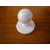 Fehér színű szakácskabát gomb 12db
