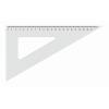 KOH-I-NOOR Háromszög vonalzó, műanyag, 60 °, KOH-I-NOOR