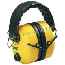 Earline® MAX 800FM aktív elektronikus fültok, beépített sztereó FM rádióval (SNR 25dB)