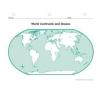 Continents and Oceans nyelvkönyv, szótár