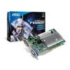 MSI AGP8x FX5500-D256H - FX5500 256MB videokártya