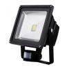 50W mozgásérzékelős LED reflektor fényvető energiatakarékos (meleg fehér, 3 funkciós mozgásérzékelővel)