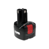 Powery Utángyártott akku Bosch ütvecsavarbehajtó GDR 9,6 NiCd O-Pack  japán cellás