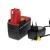 Powery Utángyártott akku Bosch Akkus csavarozó GSR 14,4VES2 Li-Ion + töltő