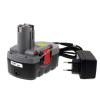 Powery Utángyártott akku Bosch típus 2607335535 O-Pack Li-Ion + töltő