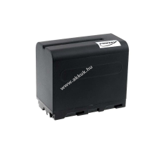 Powery Utángyártott akku videokamera Sony CCD-TRV49 6600mAh fekete sony videókamera akkumulátor