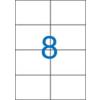 VICTORIA Etikett, univerzális, 105x74 mm, VICTORIA, 800 etikett/csomag