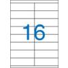 VICTORIA Etikett, univerzális, 105x35 mm, VICTORIA, 1600 etikett/csomag