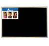 VICTORIA Krétás tábla, fekete felület, nem mágneses, 60x90 cm, fakeret, VICTORIA felírótábla