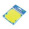 DONAU Öntapadó jegyzettömb, telefon alakú, 50 lap, DONAU, sárga