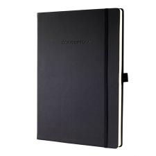 SIGEL Conceptum Jegyzetfüzet fekete füzet