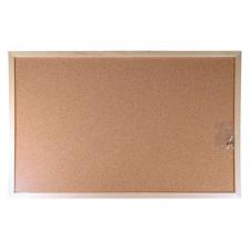 VICTORIA Parafatábla, kétoldalas, 30x40 cm, fa keret, VICTORIA parafatábla