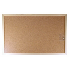 VICTORIA Parafatábla, 60x100 cm, fa keret, VICTORIA parafatábla