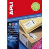 APLI Etikett, univerzális, 105x74 mm, extra erős, APLI