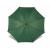 . Automata esernyő, hajlított fa nyéllel, zöld