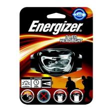 ENERGIZER Fejlámpa, elem nélküli, 3 LED, ENERGIZER elemlámpa