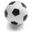 . Stresszlevezető labda, foci
