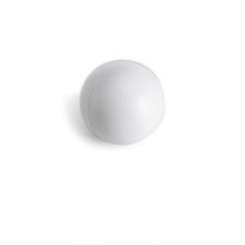 . Stresszlevezető labda, fehér ajándéktárgy