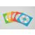 FELLOWES CD/DVD boríték, papír, ablakos, FELLOWES, vegyes színek