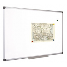 VICTORIA Fehértábla, mágneses, 90x180 cm, alumínium keret, VICTORIA mágnestábla