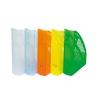 DONAU Iratpapucs, műanyag, 70 mm, DONAU, áttetsző sárga