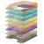 DONAU Irattálca, műanyag, DONAU, áttetsző citromsárga
