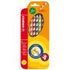 STABILO EasyColors színes ceruza készlet, háromszögletű, jobbkezes, 6 szín