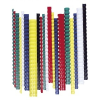FELLOWES Spirál, műanyag, 8 mm, 21-40 lap, FELLOWES, fekete