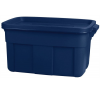CURVER Műanyag tárolódoboz, 57 l, kék, CURVER villanyszerelés
