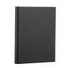 PANTA PLAST Gyűrűs dosszié, panorámás, 4 gyűrű, 25 mm, A4, PP/karton, PANTA PLAST, fekete