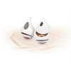 ROTBERG Tejszínkiöntő, porcelán, 20 cl, ROTBERG, fehér, piros-fekete mintával