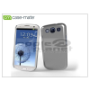CASE-MATE Samsung i9300 Galaxy S III hátlap - Case-Mate Barely There - metalic silver