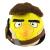 Rovio STAR WARS - Angry Birds, plüss, 20 cm, Han Solo