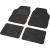 Conrad Univerzális 4 darabos autószőnyeg készlet, fekete, szürke