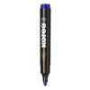 """KORES Alkoholos marker, 3-5 mm, kúpos, """"Marka"""", kék"""