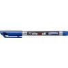 "STABILO Alkoholos marker, 1 mm, kúpos,""Write-4-all"", kék"