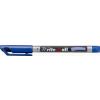 "STABILO Alkoholos marker, 0,4 mm, kúpos, ""Write-4-all"", kék"