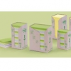 POST-IT 653-1TRP 51x38mm 24x100lap/csm GreenLine vegyes