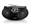 Philips AZ385 hordozható cd és kazettás rádió hangszóróval