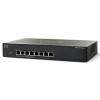Cisco SF300-08 8 LAN 10/100Mbps menedzselhető rack switch