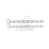 Trixie fojtó hosszúszemű nyakörv 59cm/4mm (TRX2151)