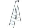 """KRAUSE Állólétra, 7 lépcsőfokos, alumínium, KRAUSE """"Safety"""" létra és állvány"""
