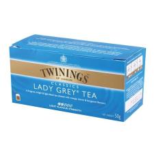 """TWININGS Fekete tea. 25x2 g, TWININGS """"Lady grey"""" tea"""