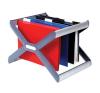 """REXEL Függőmappa tároló, műanyag, REXEL """"Crystalfile Extra Organisa Frame"""" kiegészítő irodaberendezés"""