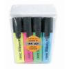 """EDDING Szövegkiemelő készlet, 2-5 mm, EDDING """"345"""", 4  külnböző szín"""