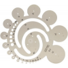 Gama Körsablon -Z32- radius -749002- füstszínű KOH-I-NOOR