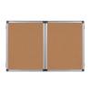 BI-OFFICE Fehér tábla+parafa tábla kihajtható 120x150 -TR06060101170- BI-O