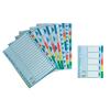 ESSELTE Elválasztólap -15263- A4 20-részes műanyag ESSELTE <10csom/dob>
